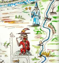 treasure hunt at Les Rives du Lac