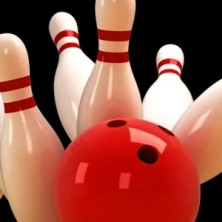 Skittle and Bowling Ball